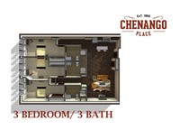 3 Bed / 3 Bath - Starting At $850